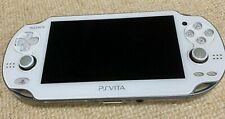 Used PCH-1000 PlayStation PS Vita Crystal White Sony Free Shipping from JAPAN