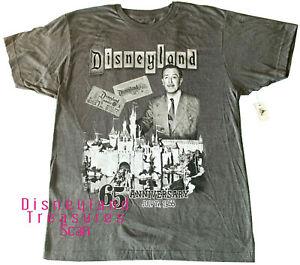Disneyland Shirt 65th Anniversary Limited Release AP Exclusive Sizes L, XXL
