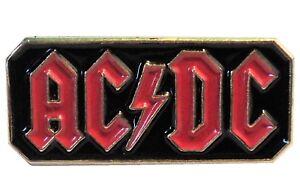 ACDC AC/DC Heavy Metal Band Rock Group Metal Enamel Biker Badge 23mm NEW