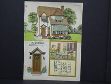 Houses, Homes, American Builder c.1927, One Double Sided Print #07