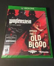 Wolfenstein 2-Game Pack [ The New Order & The Old Blood ] (XBOX ONE) NEW