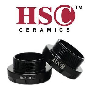 DUB BSA English Thread Bottom Bracket with Ceramic Bearing - HSC Ceramics