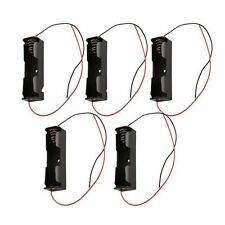 5PCS 18650 Battery Clip Battery Holder Battery Case for Battery 18650 With Leads