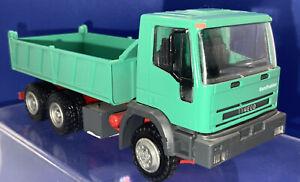 Conrad (3040] Iveco Eurotrakker Tipper Truck 1:50 Near Mint Unboxed. Green