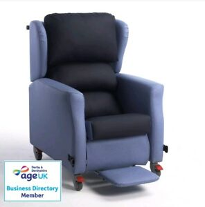 Repose Flexi Porter Nursing Home Homecare Wheeled and Tilt Chair FREE Delivery