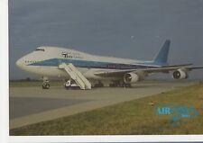 Tesis Cargo Boeing 747-200F Aviation Postcard, B007