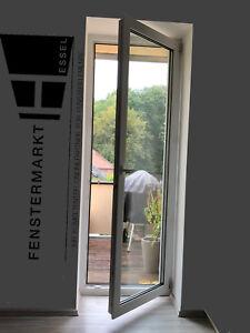 Balkontür Terrassentür Fenster Tür Kunststoff 1flg. Dreh-Kipp Weiß Balkon