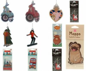 Air Fresheners Pug Guitar Bus Scooter Queen London  Icons Air Freshener