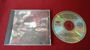 CANNED HEAT CD HISTORICAL FIGURES AND ANCIENT HEADS [1972 UK BGOCD 83 1990 BLUES