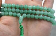 Mala 6mm 108 Aventurine Jade Beads Necklace Hot Wristband spirituality chain