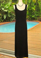 Balenciaga Blk Silk Long Dress Classic Gown For Elegant Evening Out!  38 S PARIS