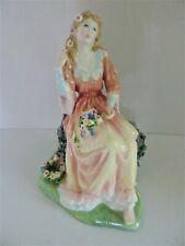 Royal Doulton Shakespeare Ophelia Ltd. Edition Highly Detailed Figurine