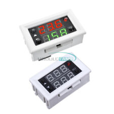 2PCS 12V Timing Delay Cycling Digital Double LED Display Relay Module Switch