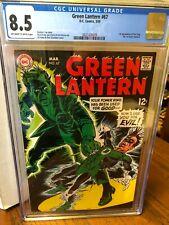Green Lantern #67  CGC 8.5!!!  DC 1969  1st appearance Rori Dag the first Green