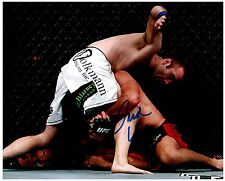 JACOB VOLKMANN Signed Autographed UFC MMA 8X10 PIC. J