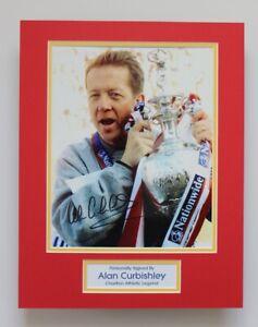 Charlton Athletic Alan Curbishley HAND SIGNED Photo Mount Autograph Display COA