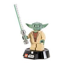 "Star Wars Yoda 6"" Figure LED LITE Desk Lamp Style 2, LEGO 2013 NEW UNUSED"