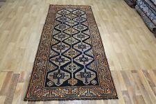 Antique handmade Persian Shiraz rug 295 x 110 cm