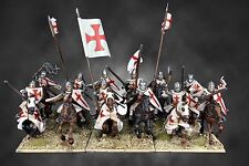 FIREFORGE TEMPLAR KNIGHTS CAVALRY ACTION FIGURINES # FFG002