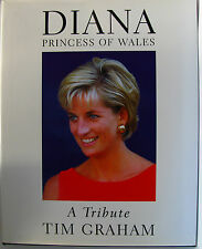 #OB7, Tim Graham & Tom Corby DIANA, PRINCESS OF WALES H/cover Postage Fast & ...