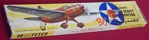 """Vintage 1940 Ace Whitman US Army Curtiss Scout  - cat.  2953 - 36"""" Wing Span"""