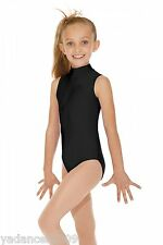 Leotard.7-16 Years Gymnastic Dancewear UK Lace High Neck Ballet Lyrical Dance