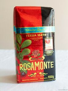 Rosamonte Especial Yerba Mate - 1KG - 2.2LBS - Free Shipping