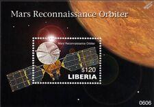MARS RECONNAISSANCE ORBITER (MRO) Spacecraft Space Stamp Sheet (2006 Liberia)