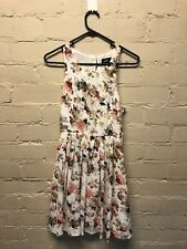 Floral A-Line Pleated Dotti dress, size 6 BRAND NEW WITH TAGS