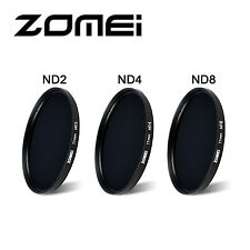 Zomei 82 mm Neutral Density Filter Set Kit ND2+ND4+ND8 for Canon Nikon Sony Lens