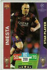 2017 Venezuelan card Iniesta Barcelona FC UEFA Champions League VERY RARE Soccer