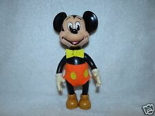 Vintage Mickey Mouse Walt Disney Squeaky Toy Vinyl Antique Made in Japan