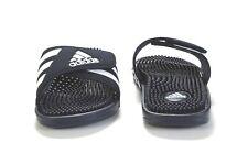 04b04ae938f adidas Adissage 078261 Navy White Slides Sandals Flip Flops Mens Sz 6