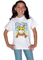 Stampy Cat Stampylongnose gift for Children Boys Girls Unisex White T Shirt 074