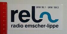 Aufkleber/Sticker: rel Radio emscher lippe - UKW 96,1 (25051675)