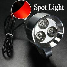 12V 15W LED Work Spot Light Red Lamp Waterproof For Motorcycle Truck Boat Car