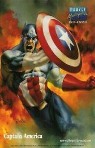 1996 Marvel Masterpieces MASTERPRINT Captain America Silver Sufer Wolverine Lot