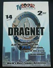 World's Most Famous Detectives Dragnet (DVD, Black & White)