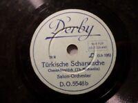 """SALON-ORCHESTER """"Türkische Scharwache / Die Mühle im Schwarzwald"""" Derby 20cm"""