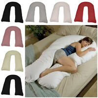 12 ft Comfort U Shape Maternity Pregnancy Support Pillow And U Pillowcases