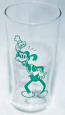 Disney Goofy Vintage Dippy Dawg 1930's Glass Durkee