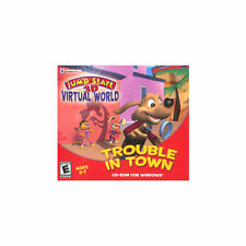 JumpStart 3D Virtual World: Trouble in Town Jewel Case (PC, 2008)