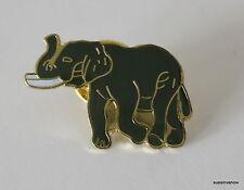 Black Elephant Lapel Hat Pin Safari Animal Tie Tack Large Mammal Jungle