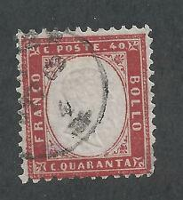 ITALY #20  USED - 1862