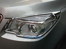 CHROME HEAD LAMP LIGHT COVER TRIM FOR NEW CHEVROLET TRAILBLAZER 2012 SUV V.2