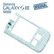 Chasis Marco Carcasa Intermedio Blanco ORIGINAL Samsung Galaxy S3 I9300 Despiece