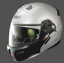 CASCO HELMET MODULARE G9.1 EVOLVE COUPLE' N-CO FLAT SILVER GREX SIZE L