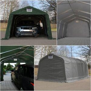 Zeltgarage PVC Garagenzelt Foliengarage Weidezelt Carport mobiler Unterstand