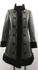 Womens Country Pacer Imported Fabric Coat Sz 2