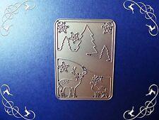 Carino Natale Robin Die Taglio in Metallo Bauble Artigianato Card Making Scrapbooking